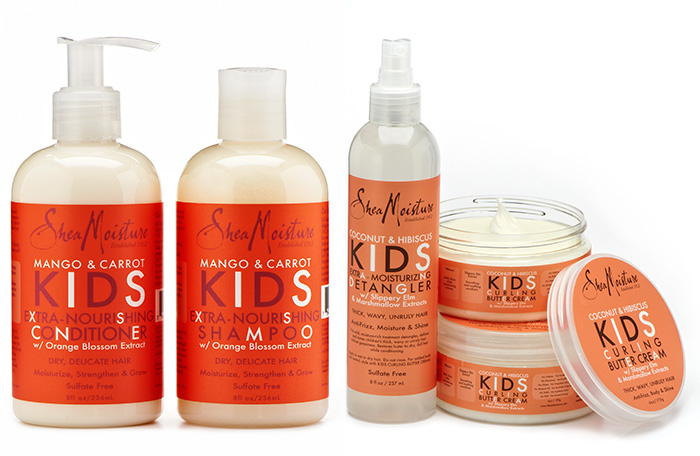 Review Sheamoisture Kids Hair Care Collection Natural