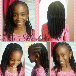 Hairstyles For Teens Braided Twists 2 Natural Hair Kids