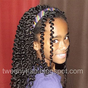 Hairstyles For Teens Twist Out Natural Hair Kids