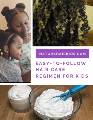 Hair Care Regimen for Kids